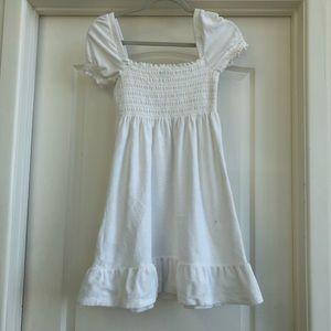 Juicy Couture White Terry Basics Dress Sz M